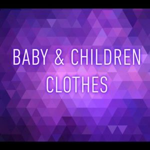 Other - Baby Girl & Boy and Children's Boy & Girl Sizes